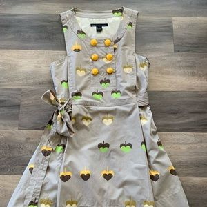 Marc by Marc Jacobs apple Girl Scout dress